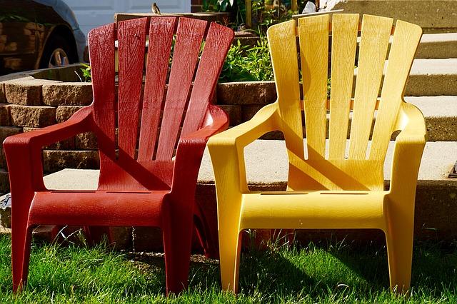 meble ogrodowe, krzesła