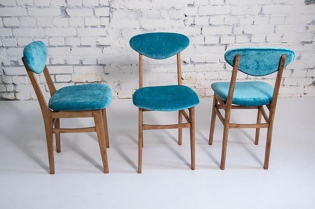 krzesła, obicia, wymiana tapicerki