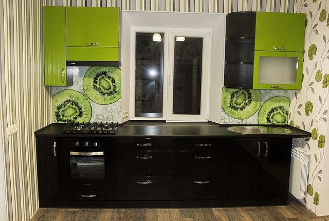 meble kuchenne, malowanie, kolory