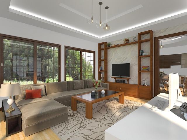 meble calvados, pomarańczowe drewno, salon, wyposażenie