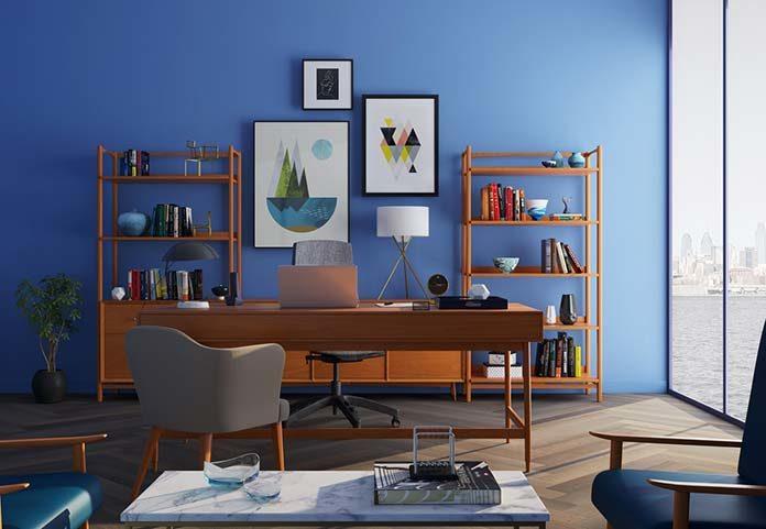 Biuro w stylu industrialnym - inspiracje